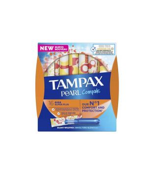 Tampax - Super plus tampons Pearl Compak - 16 units
