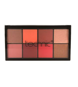 Technic Cosmetics - Blush and Highlighter Palette - Jungle Fever