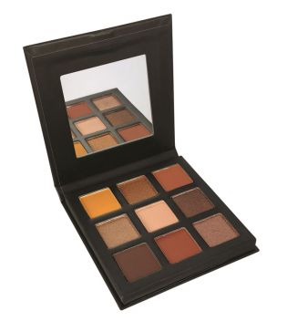 Technic Cosmetics - Pressed Pigments Eyeshadow Palette - Enticing