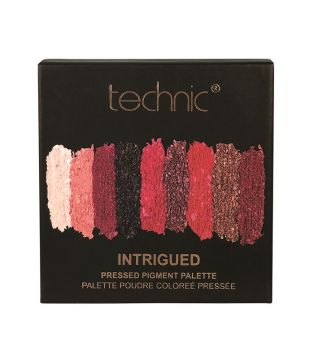 Technic Cosmetics - Pressed Pigments Eyeshadow Palette - Intrigued