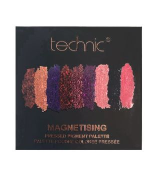 Technic Cosmetics - Pressed Pigments Eyeshadow Palette - Magnetising