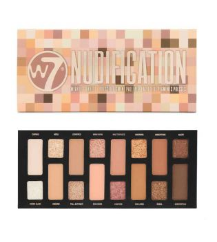 W7 - Palette of pressed pigments Nudification