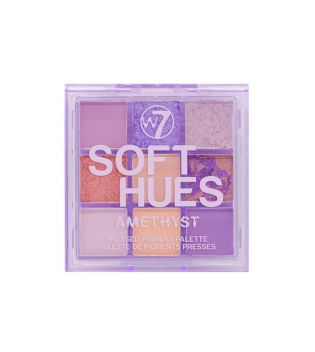 W7 - Pressed Pigment Palette Soft Hues - Amethyst