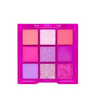 W7 - Vivid Pressed pigments palette - Punchy Pink