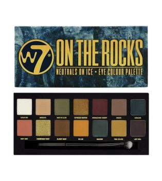 W7 - Eye shadow palette - On the Rocks