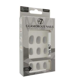 W7 - Glamorous Nails Artificial Nails - Clean Slate
