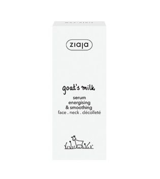Ziaja - Serum Energising and Smoothing with Goat's Milk