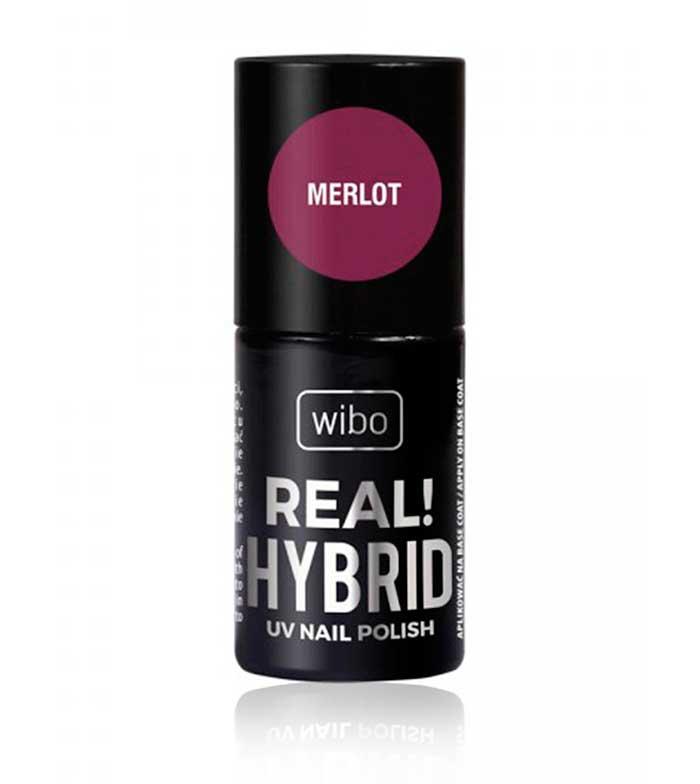 Wibo Nail Polish Real Hybrid 02 Merlot